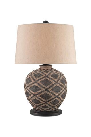 Currey & Company - Afrikan Table Lamp - 6990