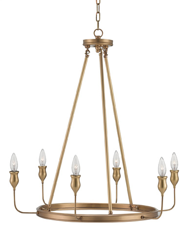 Currey & Company - Trilogy Chandelier - 9304