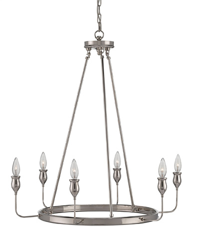 Currey & Company - Trilogy Chandelier - 9305