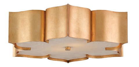 Currey & Company - Grand Lotus Flush Mount - 9999-0010