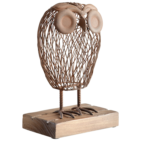 Image of Wisely Owl Sculpture