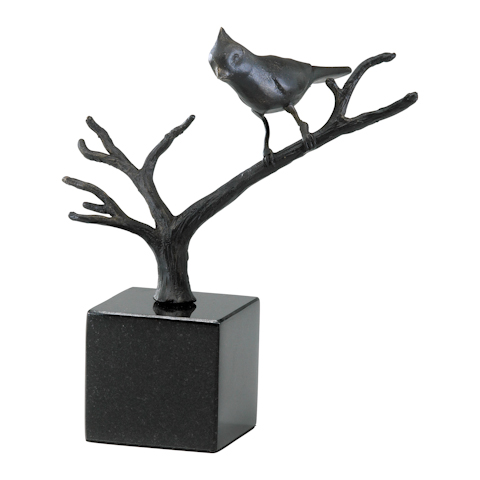 Cyan Designs - Cardinal  on Branches - 02286