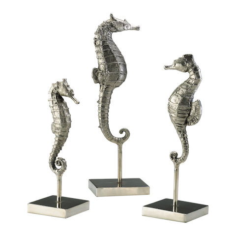 Cyan Designs - Seahorses on Stand - 01865