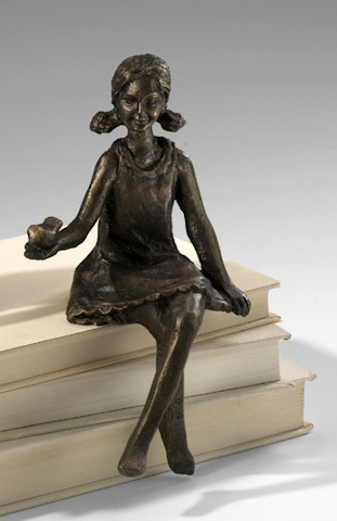 Image of Girl Shelf Figurine