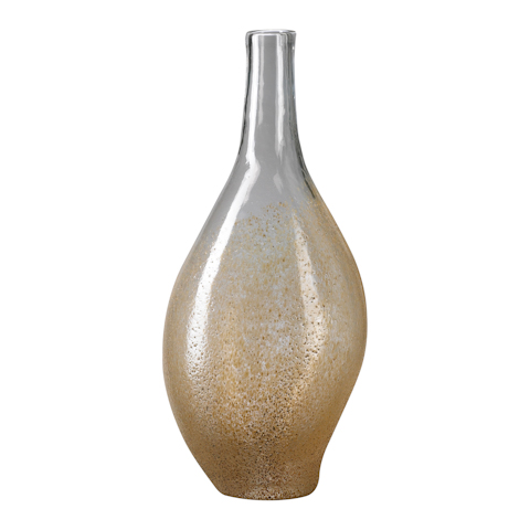 Cyan Designs - Large Mocha Dipped Vase - 02134
