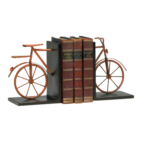 Image of Bicycle Bookends