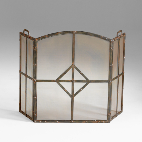 Cyan Designs - Lincoln Fire Screen - 04900