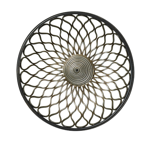 Cyan Designs - Round Gold Mesh Wall Art - 02008