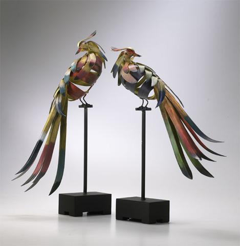 Cyan Designs - Multi-Colored Birds - 01229