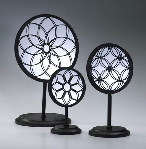 Cyan Designs - Spirograph Mirror Stands - 01887