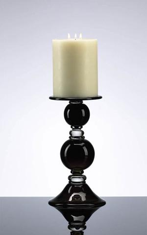 Cyan Designs - Small Black Globe Candleholder - 02181
