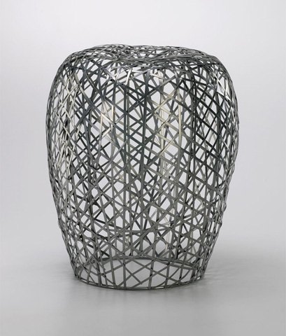 Cyan Designs - Open Grid Stool - 02448