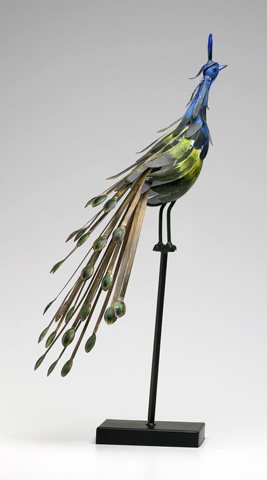 Cyan Designs - Peacock on Stand - 02832