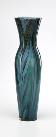 Cyan Designs - Tall Peacock Feather Vase - 02921