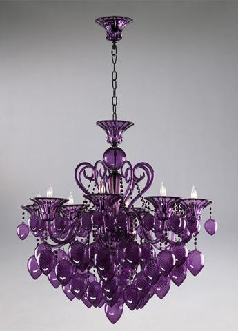 Cyan Designs - Purple Chandelier - 02996