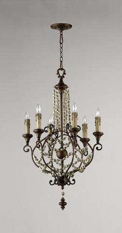 Cyan Designs - Meriel Six Light Chandelier - 03011