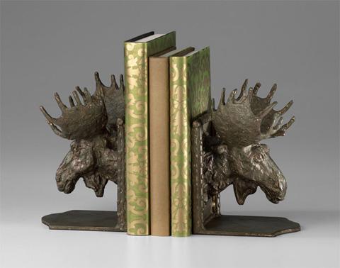 Cyan Designs - Moosehead Bookends - 03072