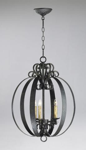 Cyan Designs - Three Light Julian Pendant - 04158