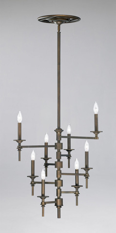 Cyan Designs - Eight Light Omega Chandelier - 04186