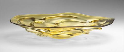 Cyan Designs - Persian Art Glass Plate - 04230