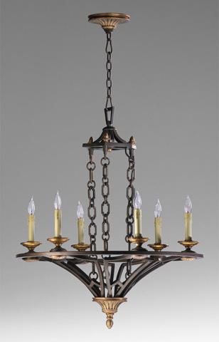 Cyan Designs - San Giorgio Six Light Chandelier - 04648