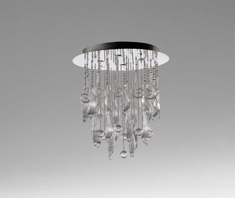 Cyan Designs - Round Mirabelle Pendant - 04667