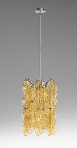 Cyan Designs - Small Boho Four Light Pendant - 05033