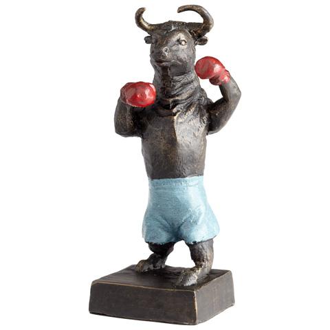 Cyan Designs - Bull Up Sculpture - 05540