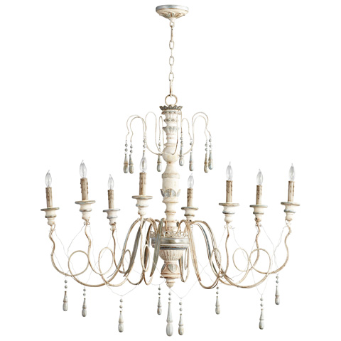 Cyan Designs - Chantal Eight Light Chandelier - 05714