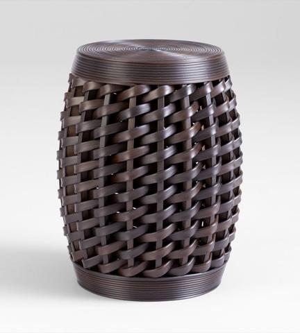 Cyan Designs - Woven Sienna Stool - 05809