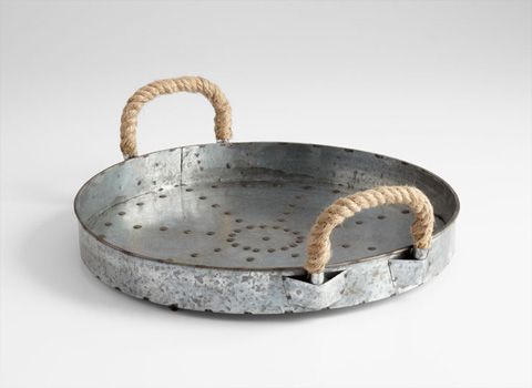 Cyan Designs - Colonial Rope Handle Tray - 05819