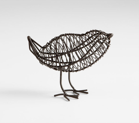 Cyan Designs - Small Bird On A Wire Sculpture - 05836