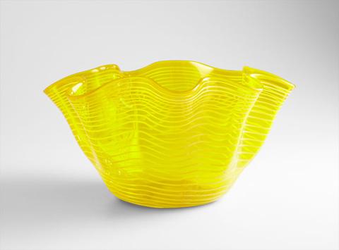 Cyan Designs - Yellow Scallop Bowl - 05863