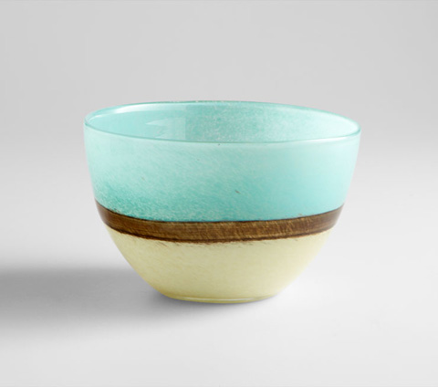 Image of Small Turquoise Earth Vase
