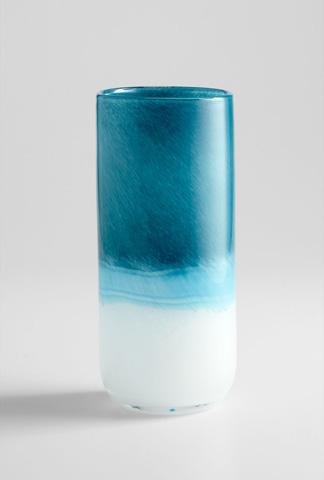 Cyan Designs - Medium Turquoise Cloud Vase - 05876