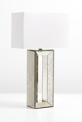 Cyan Designs - Metro Mirrored Table Lamp - 05906
