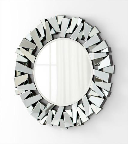 Cyan Designs - Circle Cityscape Mirror - 05938