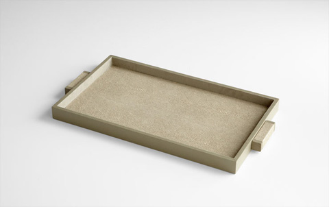 Cyan Designs - Medium Melrose Tray - 06012