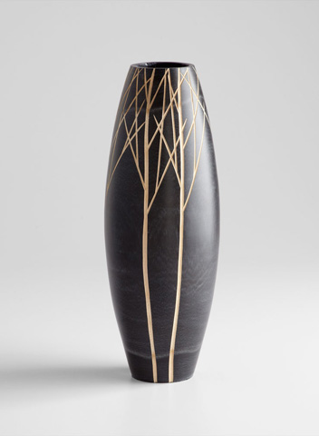 Cyan Designs - Medium Onyx Winter Vase - 06024