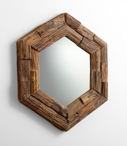 Cyan Designs - Hexagon Frontier Mirror - 06150