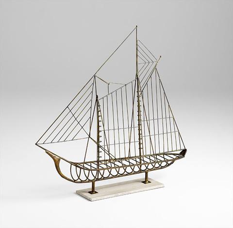 Cyan Designs - Sail Away Sculpture - 06244