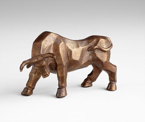 Cyan Designs - Raging Bull Sculpture - 06279