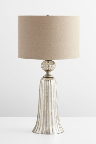 Image of Glass Tower Table Lamp