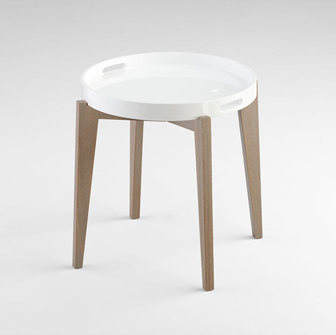 Cyan Designs - Lacquer Van Dyke Side Table - 06352