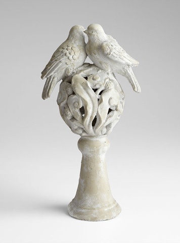 Cyan Designs - Lovebirds Sculpture - 06408