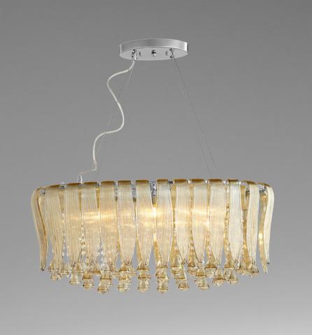 Cyan Designs - Olivia Six Light Pendant - 06441