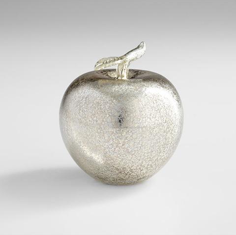 Cyan Designs - Silver Apple Sculpture - 06447