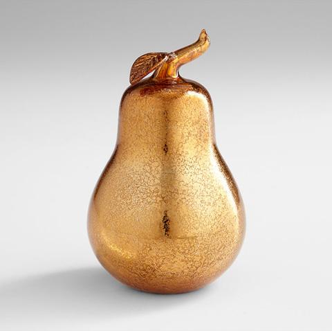 Cyan Designs - Bronze Pear Sculpture - 06452