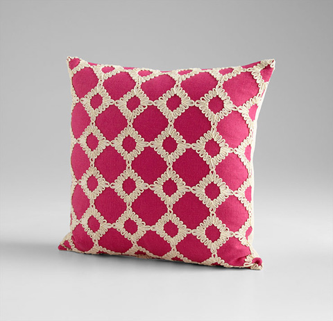 Cyan Designs - Repeat After Me Pillow - 06505