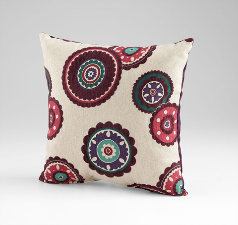 Cyan Designs - Peony Pillow - 06525